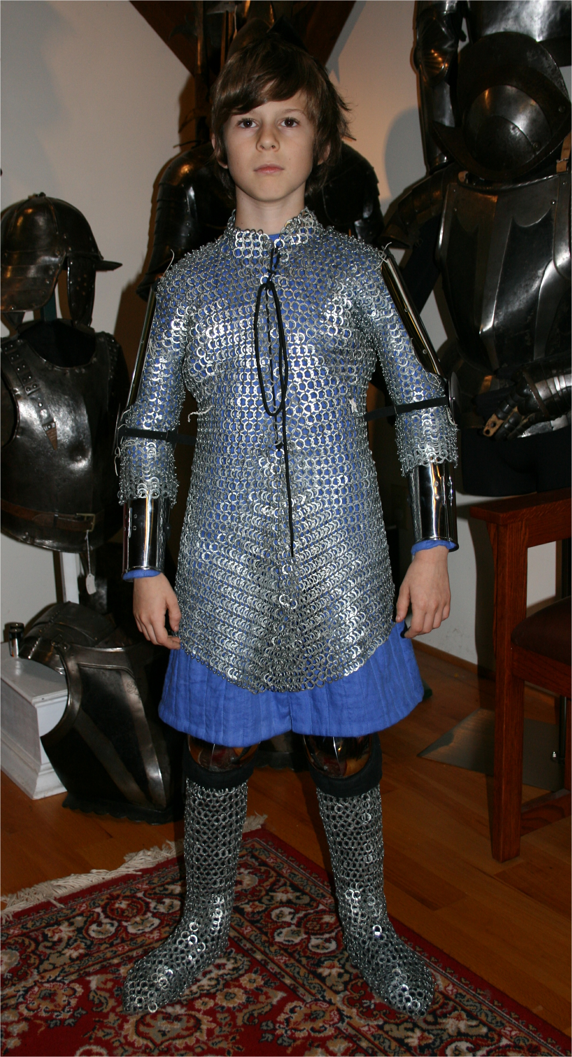 Armour - Geoffrey-1340-haubergeon