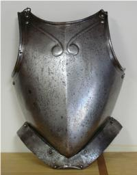Italian Breastplate and Backplate