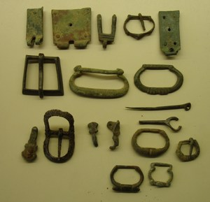 Lot of medieval items